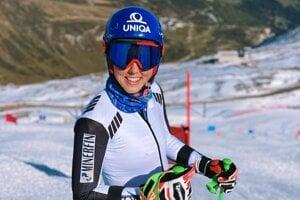 Petra Vlhová je už pripravená na prvý tohtoročný štart vo Svetovom pohári