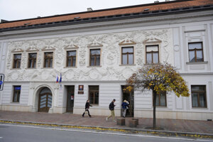 Budova Krajského súdu v Prešove.