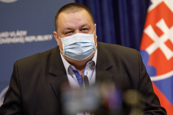 Hlavný hygienik SR Ján Mikas.