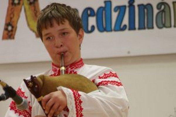 Mário Pavel súťaží v Oravskej Polhore.