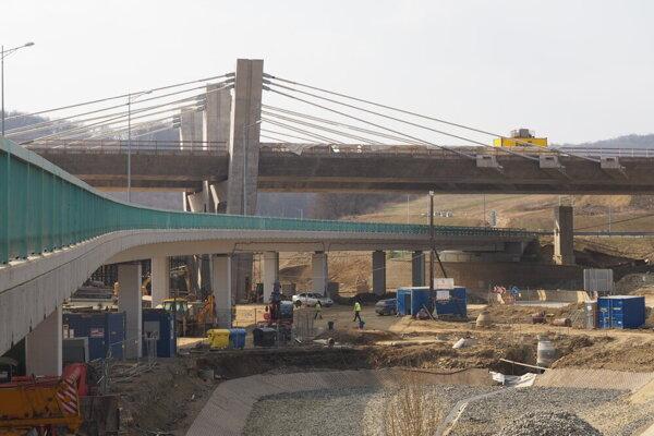 Výstavba obchvatu Prešov, západ - Prešov, juh.