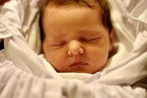 Veronika Mončeková (3050g, 47 cm) sa narodila 6. októbra Lucií a Danielovi z Mikušoviec