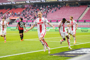Ondrej Duda sa raduje z gólu v drese 1. FC Kolín.