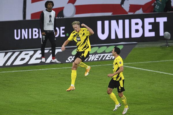 Lazio Rím - Borussia Dortmund, Liga majstrov (ilustračná fotografia).