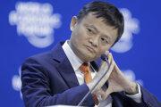 Zakladateľ internetovej spoločnosti Alibaba Jack Ma.