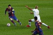 Lionel Messi v zápase FC Barcelona - Ferencváros Budapešť, Liga majstrov.