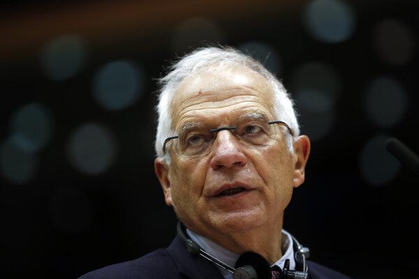 Vysoký predstaviteľ EÚ pre zahraničné veci a bezpečnostnú politiku Josep Borrell.