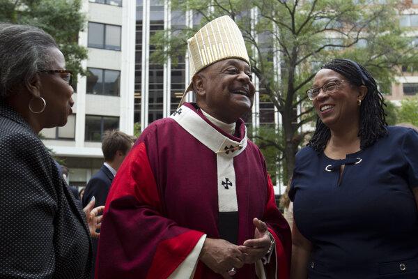 Arcibiskup Wilton Gregory sa stane prvým Afroameričanom v postavení elektora. Foto: SITA/AP