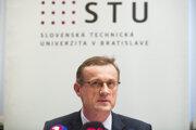 Rektor Slovenskej technickej univerzity (STU) Miroslav Fikar.
