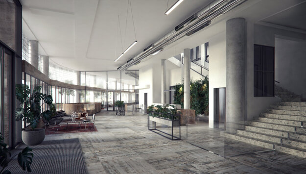 Foyer Elektární.