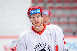 Miloš Roman sa začína presadzovať v seniorskom hokeji.