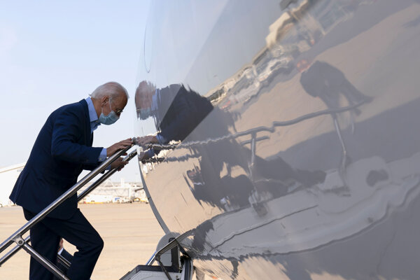 Prezidentský kandidát Joe Biden.