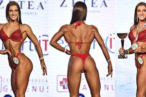 Aneta Tichá, vicemajsterka sveta v bikini fitness.