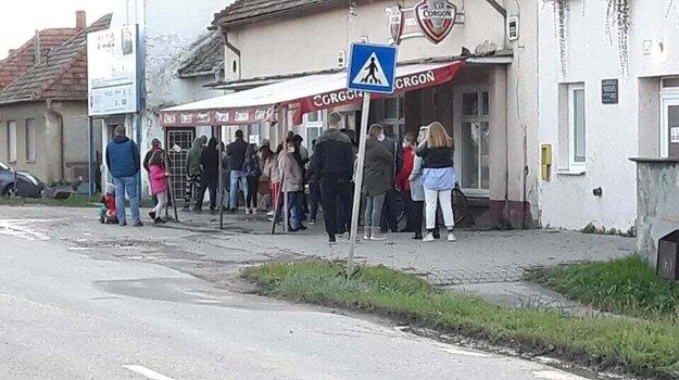 Testovanie v Zlatých Moravciach (Chyzerovce)