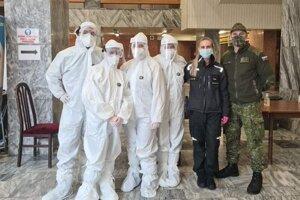 Testovací tím v CK Junior v Leviciach.
