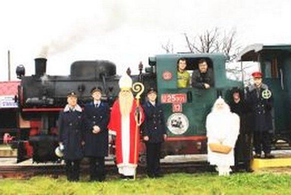 Mikulášky vlak patrí medzi najúspešnejšie podujatia Slovenského poľnohospodárskeho múzea v Nitre.