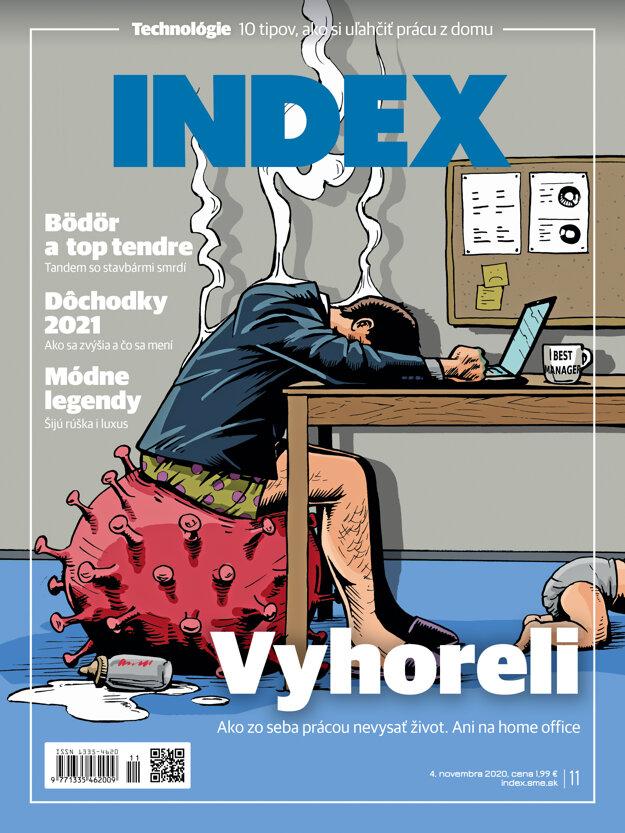 Novembrové číslo mesačníka INDEX.
