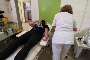 Darcovia prišli darovať krv aj v tejto neľahkej dobe.