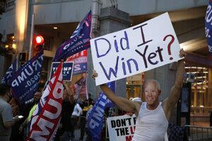 Výsledky volieb USA: Vyhrá Trump alebo Biden?