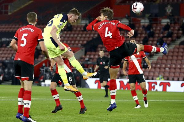 Zápas Premier Legue Southampton - Newcastle United.
