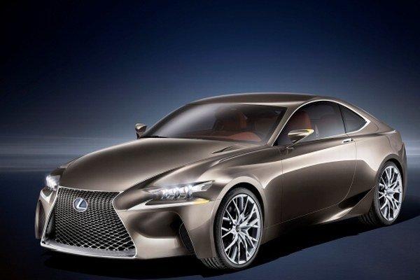 Lexus predstaví v Paríži hybridný koncept kupé LF-CC.