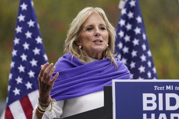 Jill Bidenová, budúca prvá dáma USA