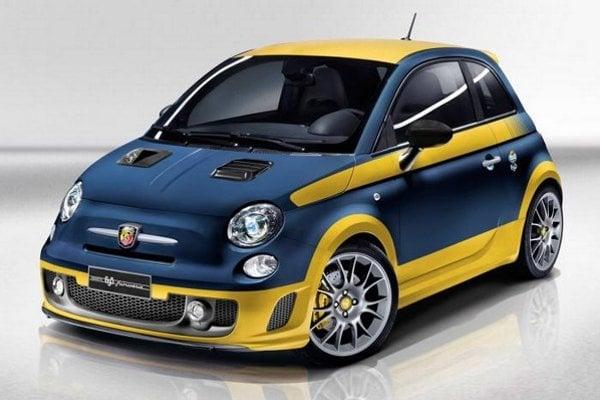 Modrý so žltými pruhmi, alebo žltý s modrými? Malý Fiat môže byť aký chcete.