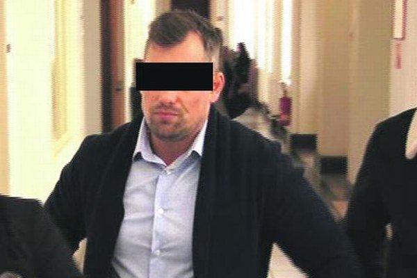 Odsúdený Pavel G. na súde.