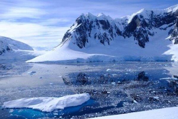 Antarktída.