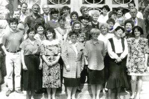 Pedagogický zbor, rok 1993.