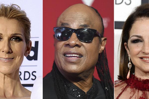 Zľava Celine Dionová, Stevie Wonder a Gloria Estefanová. Benefičný virtuálny koncert s účasťou hviezdnych amerických hudobníkov, ktorí vzdajú hold zdravotným sestrám a ošetrovateľom, sa uskutoční na Deň vďakyvzdania.