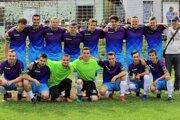 Mužstvo Štart Dunajov po prvom zápase sezóny 2020/21.