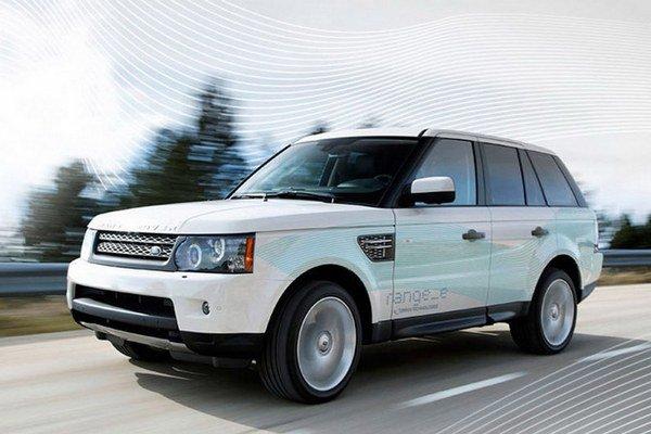 Range Rover Plug-In Hybrid.