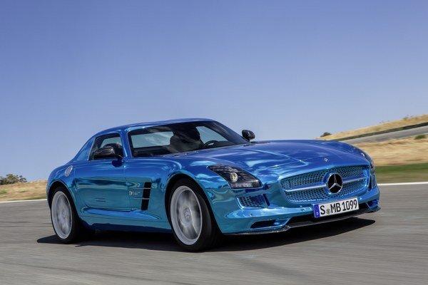 Elektrický superšport Mercedes-Benz SLS AMG ED