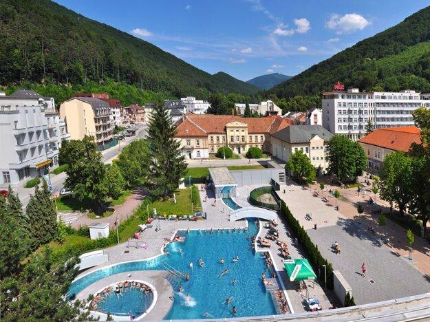 Kúpele Trenčianske Teplice.