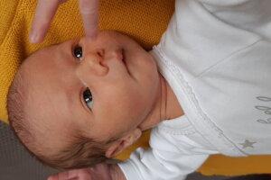 Laura Kvasničková (2770 g, 49 cm) s narodila 10. októbra Lucii a Martinovi z Trenčína.