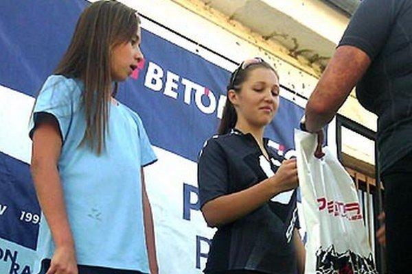 Bianka Lániková, nová nádej CK Dynamax, zaznamenala svoje prvé víťazstvo v cyklokrose.