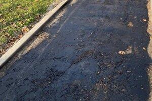 Detailný pohľad na to, čo skončilo pod vrstvami asfaltu.