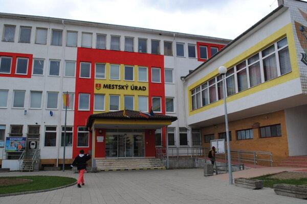 Mestský úrad v Medzilaborciach.