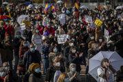 Španieli protestovali proti škrtom v zdravotníctve.