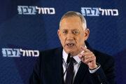 Izraelský minister obrany Benny Ganc.