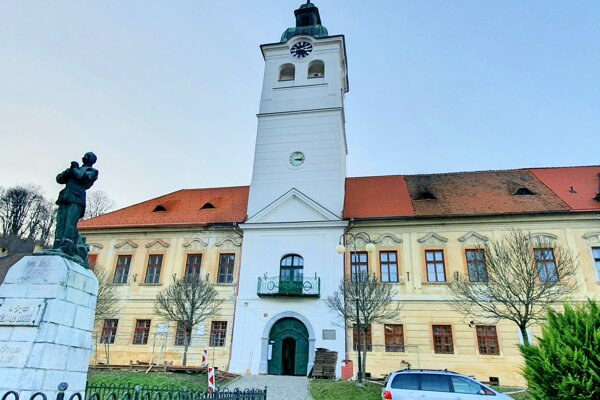 Banícke múzeum v Gelnici po ukončení prác na ďalšej etape obnovy strechy.
