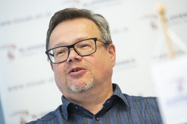 Ivan Ivanič, šéf SLA.