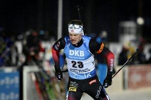Nórsky biatlonista Tarjei Bö.