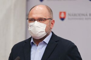 Richard Sulík, minister hospodárstva a líder strany Sloboda a Solidarita.