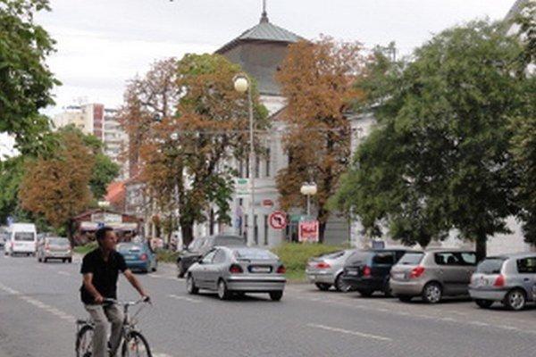 Mesto Zlaté Moravce.