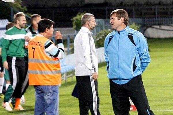 Tréner Nitry Michal Hipp bol z výsledku sklamaný.