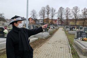 Starostka Hrabušíc J. Skokanová hovorí o možnom nebezpečenstve vysokých líp.
