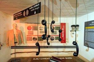 Tajný atómový bunker pre komunistických pohlavárov v Tirane dnes slúži ako múzeum.