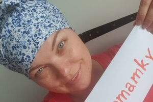 Zuzana Gondoľová bojuje za všetky mamky s rakovinou.
